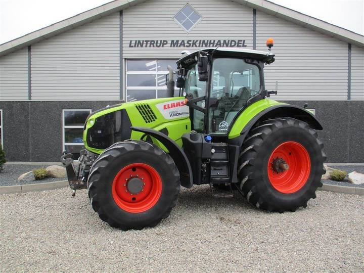 Claas Axion 850 Cmatic Og Frontlift - 2015