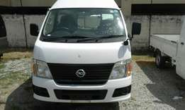 Automatic Nissan caravan high roof n low roof diesel