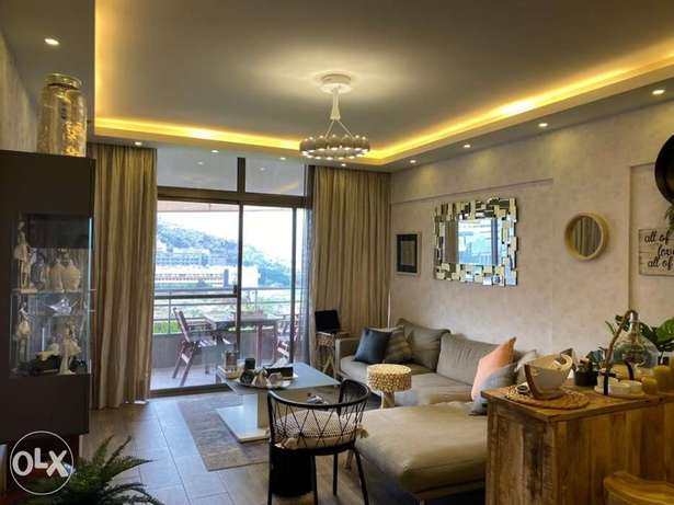 FURNISHED 2 BEDROOMS 85M for sale siwar fully decorated/keserwan