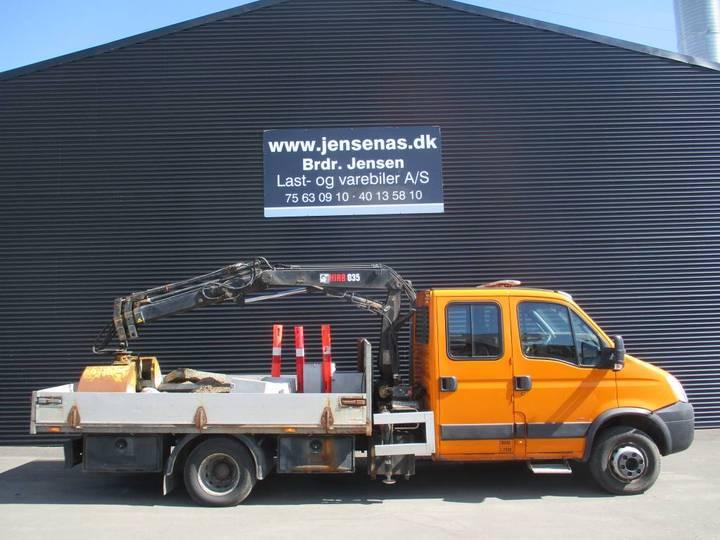 Iveco 65 C18 Dob.kab Lad/grab - 2007