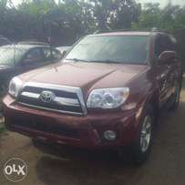 Direct Tokunbo Toyota 4Runner, 2007, 2-Row Leather Seat, Very OKAY.