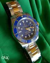 Rolex Submariner Two Tone Blue Dial Automatic