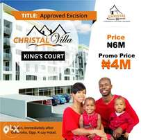 Plots of land for sale at Christal Homes Estate Ibeju-lekki, lagos