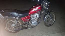 Motorcycle for sale 125cc