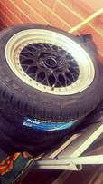 """BBS 15"""" with Brand new tyres to swop"""