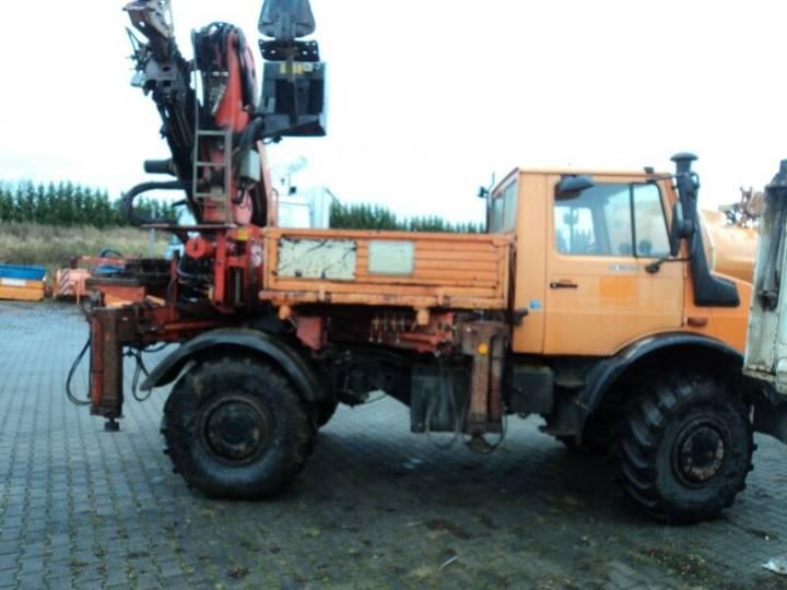 Unimog 427u002F13  U1650  Kran - 1997