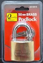 Quality Brass Padlock - 50mm