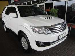 2012 Toyota Fortuner 3.0 D-4D Auto New Spec