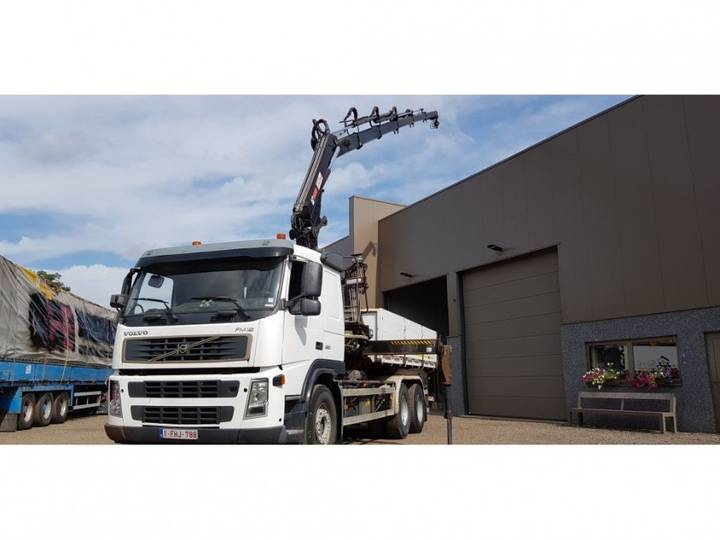 Volvo fm 12 6x4 containersysteem kraan - 2004