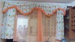 Kitchen curtain complete 4800/=