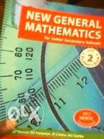 New general mathematics and new concept english textbooks for SS1-SS3