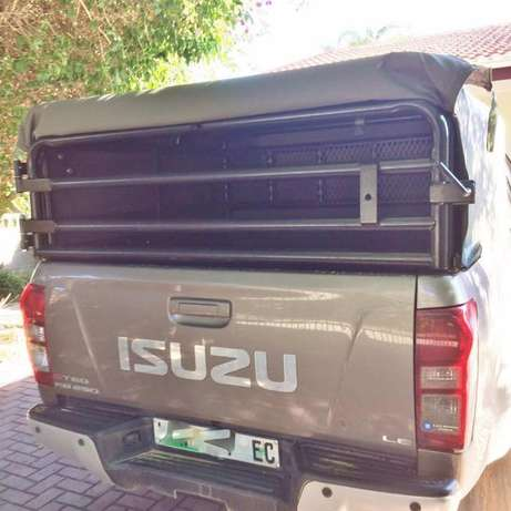 Brand new sheep railings and canvas canopy to fit late model Isuzu. Lorraine - image 3