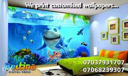 Print Customised Wallpeprs