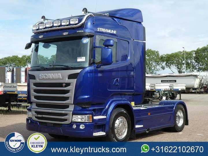 Scania R490 highline,alu rims - 2015