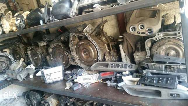 Sale of used transmission