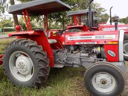 Fresh Assembled MF 260 60 Hp, Free Plough, 18 Months Warranty
