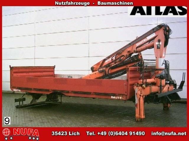 Atlas Wechselpritsche Mit Kran - 1992