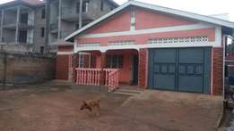4bedrooms 2bathroom,garage,2quarters stand alone in KIREKA at 1.2m