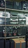 Speakers on SALE.Denon,Jvc,LG,Sansui,etc.From R499.