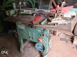 New Woodworking machine with new 5.5hp motor