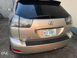 Cheap neat Nigeria registered Lexus RX 330
