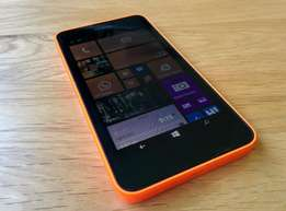 Brand new Nokia Lumia 630 smartphone in a shop