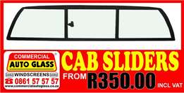Windscreens-Door/Vent/Quarter Glasses - Rear windscreens & Taxi frames