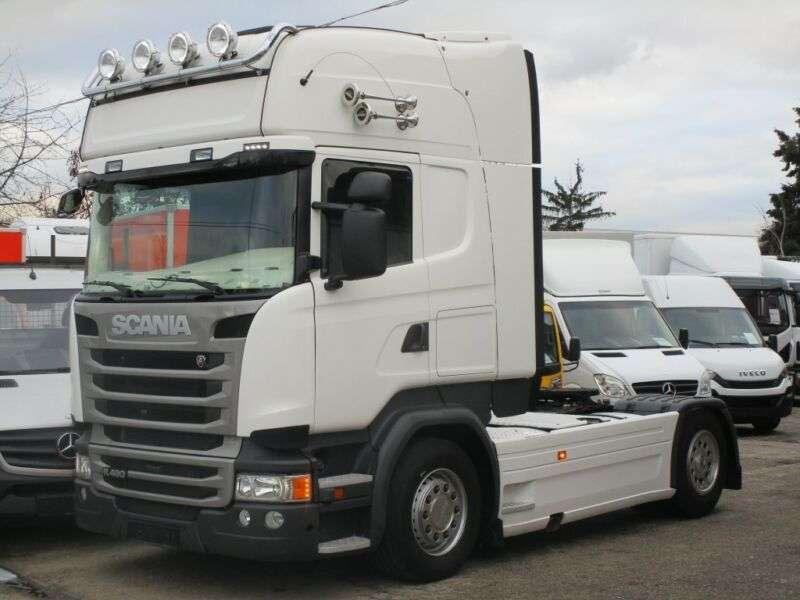 Scania R490 Topline Hydro / Leasing - 2014