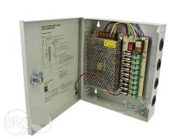 9 Ways CCTV Power Supply 12V 10A