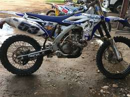 2013 Yamaha YZ250F To swap or sell