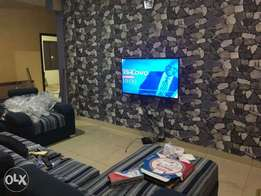 sales and installation of wallpapers in Benin city