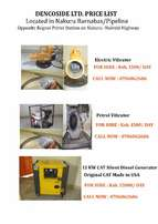 Electric and Petrol Concrete Vibrator and Electric Generator for Hire