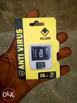 ANTI VIRUS memory Card 16GB Brand New