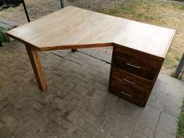 Hand Crafted Corner Desk For Sale!!