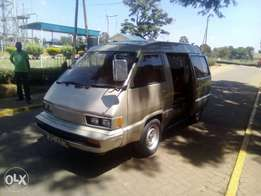 VERY CLEAN Toyota van,petrol, 7seaters previously owned by Mzungu