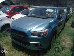 Mitsubishi RVR sky blue 2010 model KCN number. Loaded with alloy rims