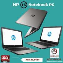 Brand New HP 15 NoteBook PC AMD A6 4GB RAM 500GB HDD Free Back Pack