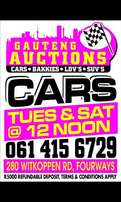 Gauteng Vehicle Auctions