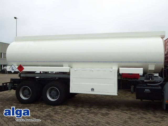 Tankaufbau, 20.000ltr. 4 Kammern, Pumpe Schlauch - 2016