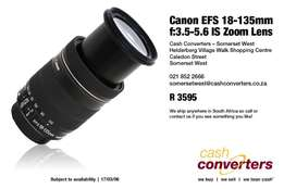 Canon EFS 18-135mm f:3.5-5.6 IS Zoom Lens