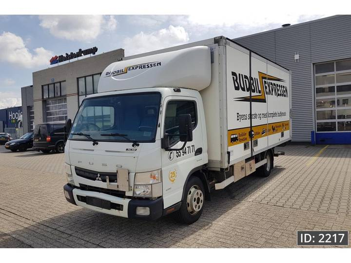 Fuso Canter FE4P10-02 Day Cab, Euro 5 - 2012