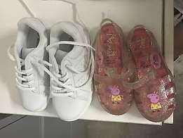Girls shoes - toddler sizes 8 and 9