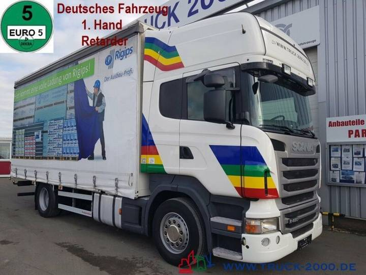 Scania R480 Topliner Edscha L+R Retarder Deutscher LKW - 2011