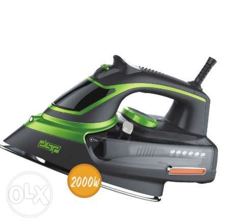 DSP adjustable steam iron self-cleaning ceramic coated board KD1004
