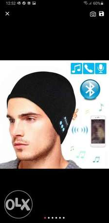 Unisex Soft Warm Beanie Hat Wireless Bluetooth Smart Cap