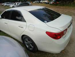 Toyota Mark X new shape. KCM number 2010 model loaded with alloy r