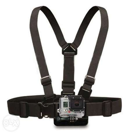 Chest Strap mount belt for Gopro hero And Action Cameras جونيه -  3