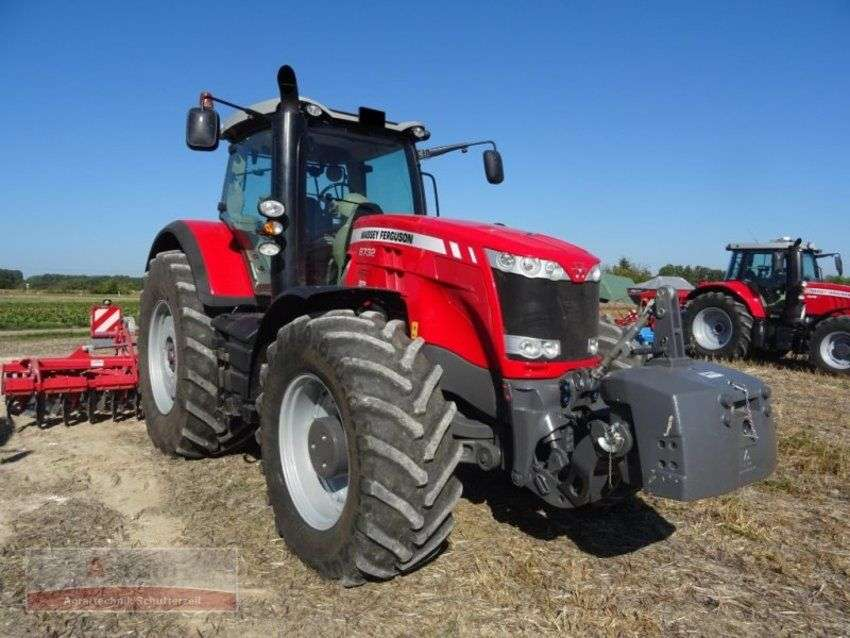 Massey Ferguson 8732 dyna vt exclusive - 2017