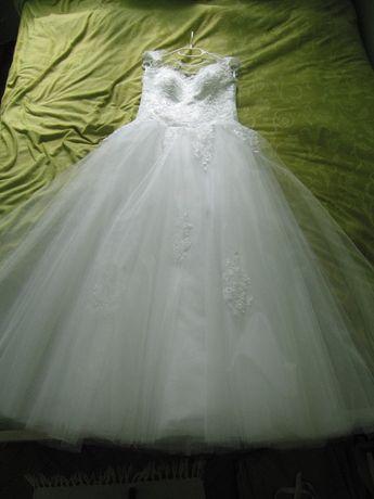 9bc3400830 Suknia ślubna Princessa 36 38 - Jola Moda - Tiul - Koronka - Gorset Koszalin