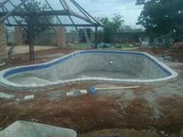 Thatching and Pools
